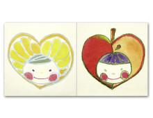 ペアぽち ミカン&リンゴ